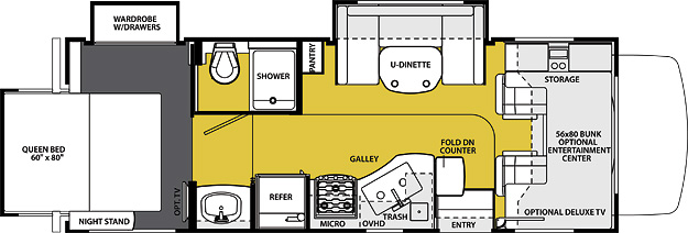 2500TS Floorplan